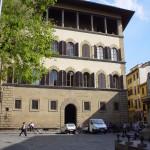 Palazzo Guadagni in estate