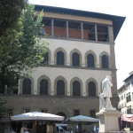 Palazzo Guadagni in un giorno di scuola